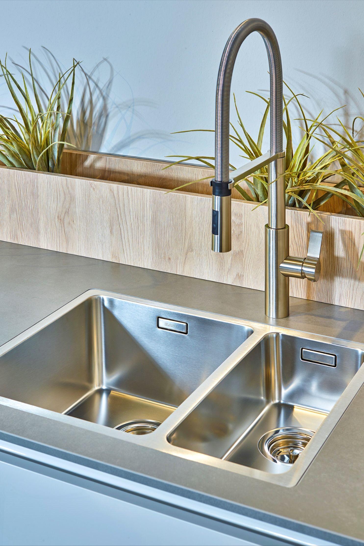 blanco spülenbereich in 2020 | küche spülbecken, küche