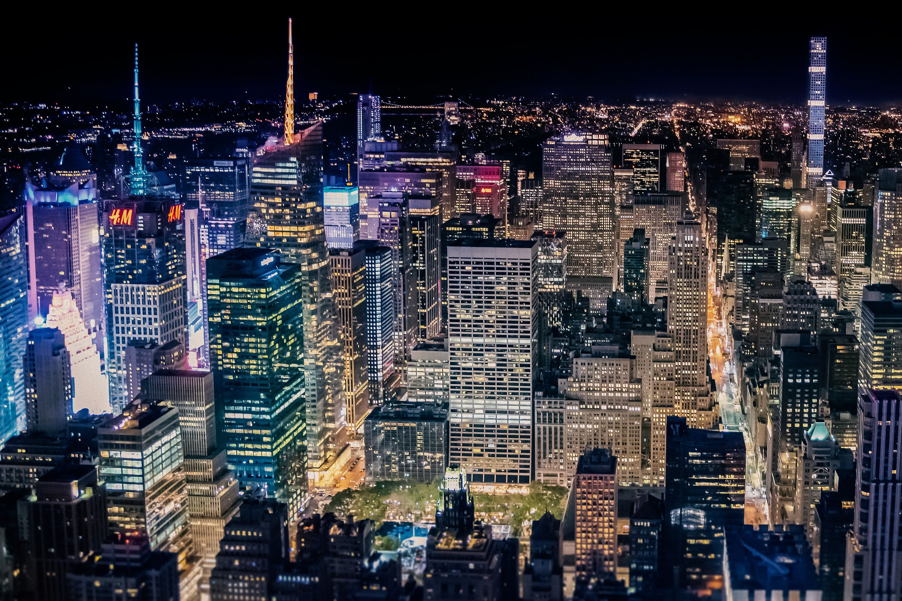 Over Times Square by PhotographyProPnw on Etsy