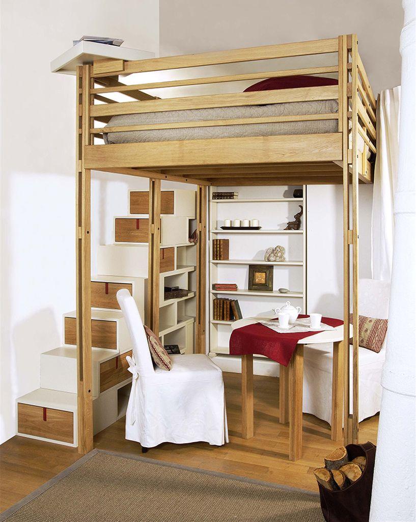 100 Fantastique Concepts Lit Mezzanine 3 Places En Bois