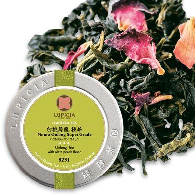 ルピシアの台湾烏龍茶「白桃烏龍 極品」で至福のティータイム
