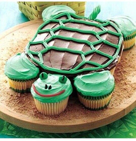 Turtle Cupcakes :)