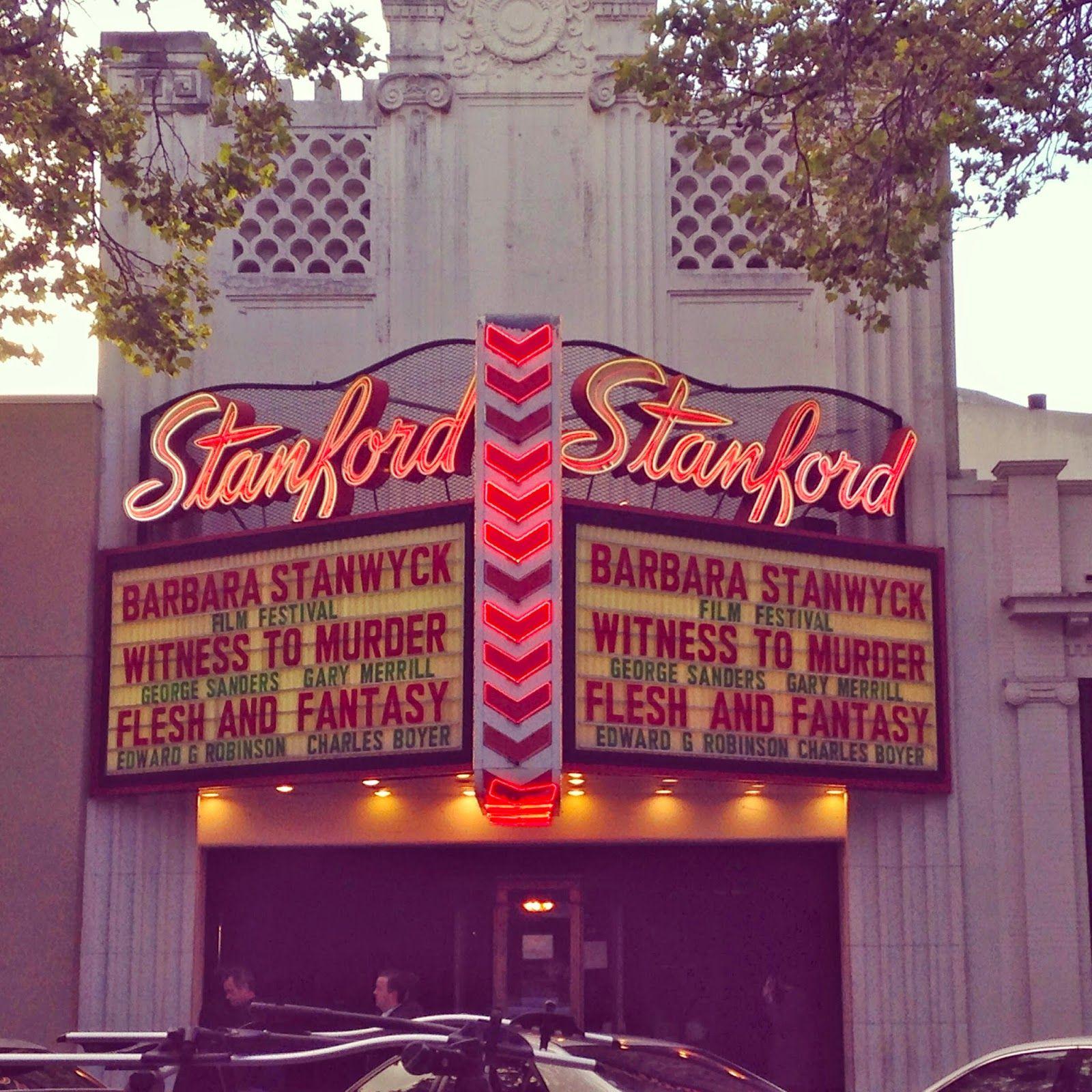 Stanford Theatre Theatre, Stanford, Gary merrill