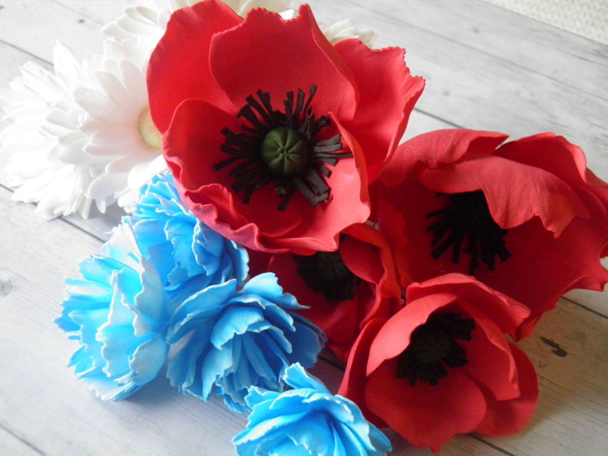 Kwiaty Z Foamiranu Na Wianek Necklace Jewelry Lei Necklace