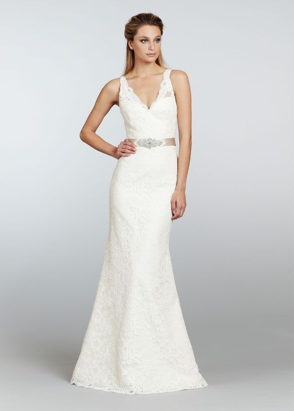 Sheath Column Wedding Dresses