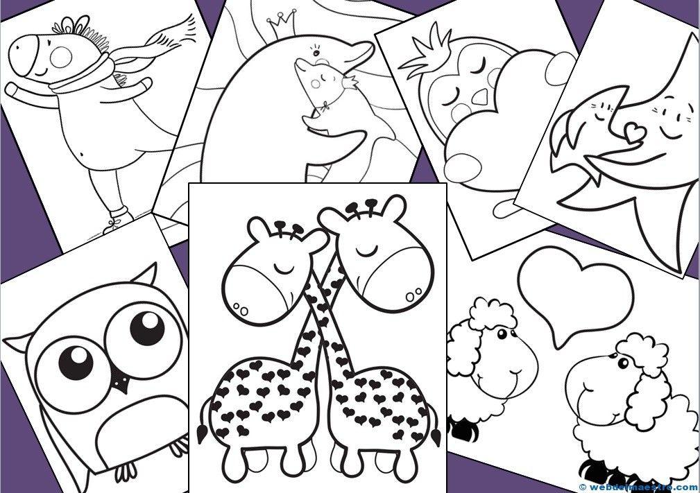 Dibujos para colorear   Aprender jugando   Pinterest   Colorear ...