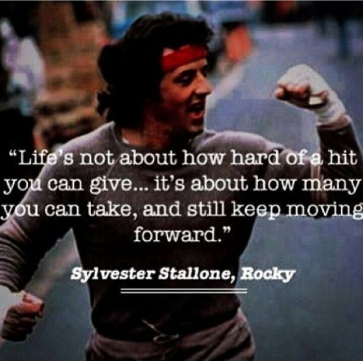 Rocky Balboa Life Is Hard Quote: - Sylvester Stallone, Rocky
