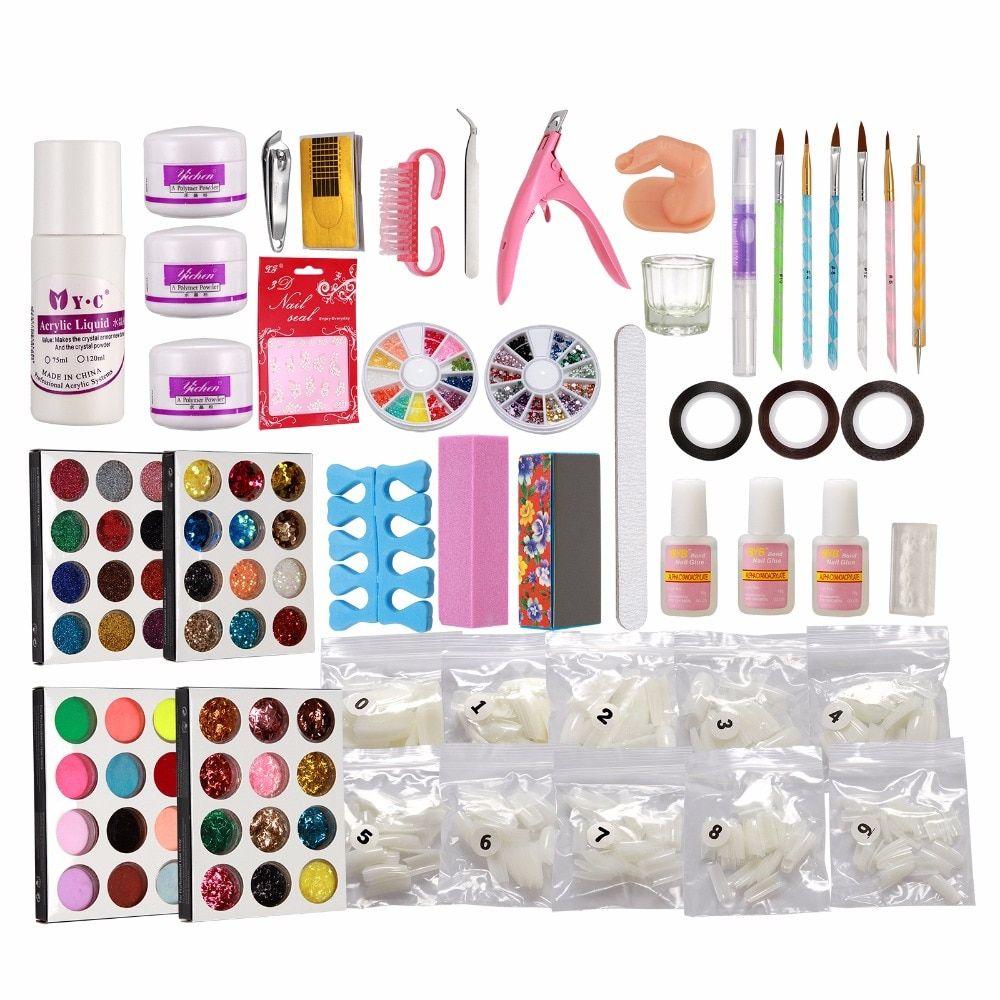 Cheap Nail Acrylic Kit Buy Quality Acrylic Nail Powder Kit Directly From China Acrylic Powder Nail Kit Suppliers Nail Art Kit Nail Art Brushes Nail Art Hacks