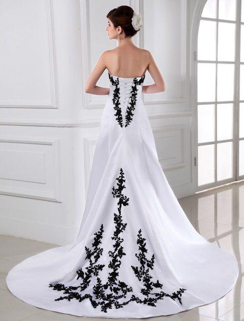 vestido de novia con negro. sabían que en la antigüedad las mujeres
