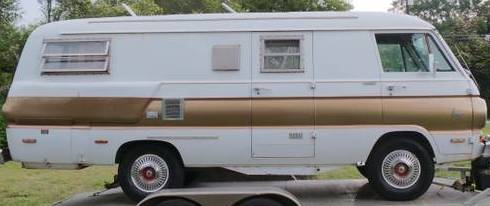 1970 Dodge A100 Xployer Retro Camper Van For Sale in San