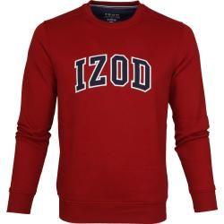 Photo of Izod Fleece Sweater Sport Flex Rot Izod