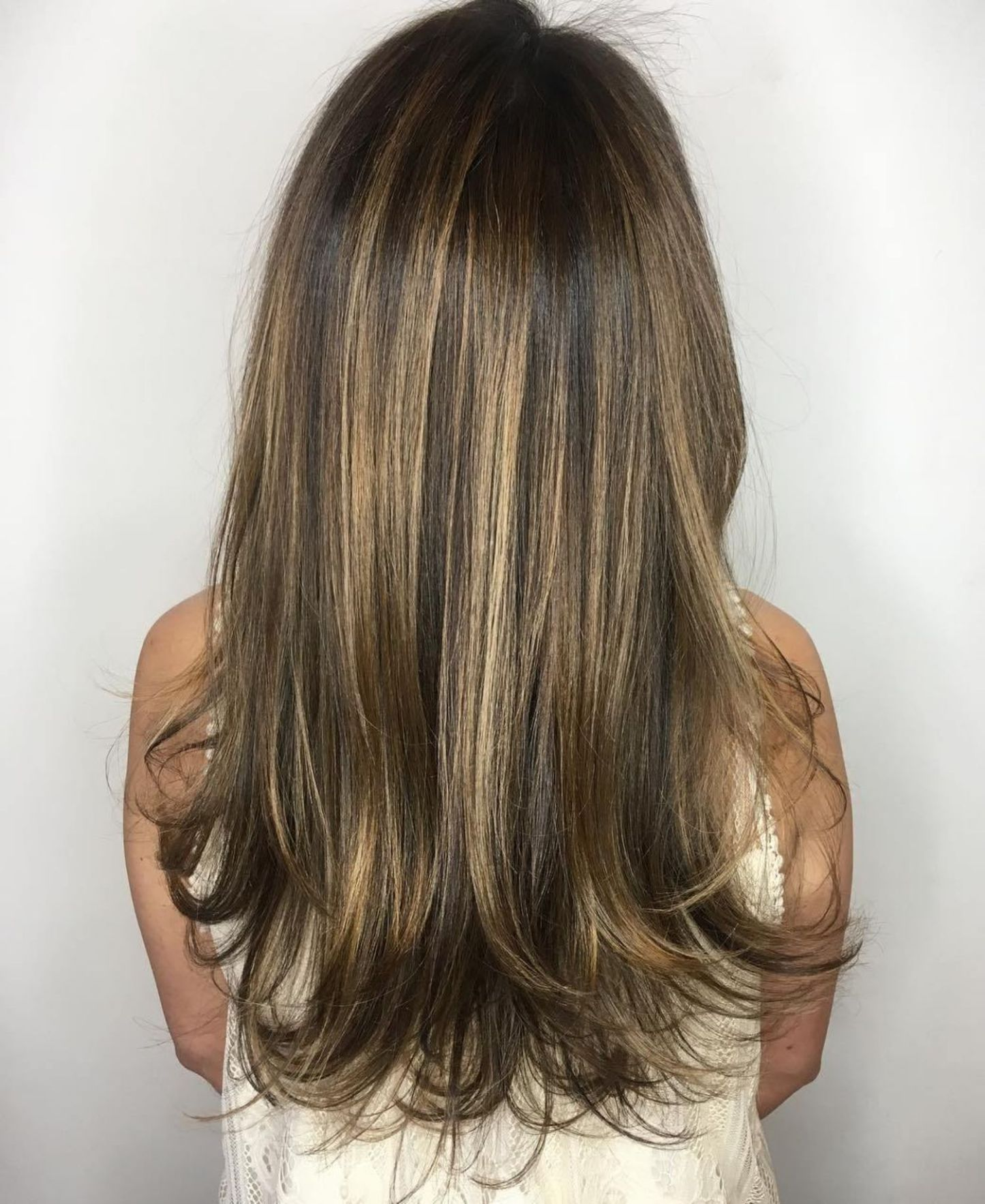 40 Picture-Perfect Hairstyles for Long Thin Hair   Long ...