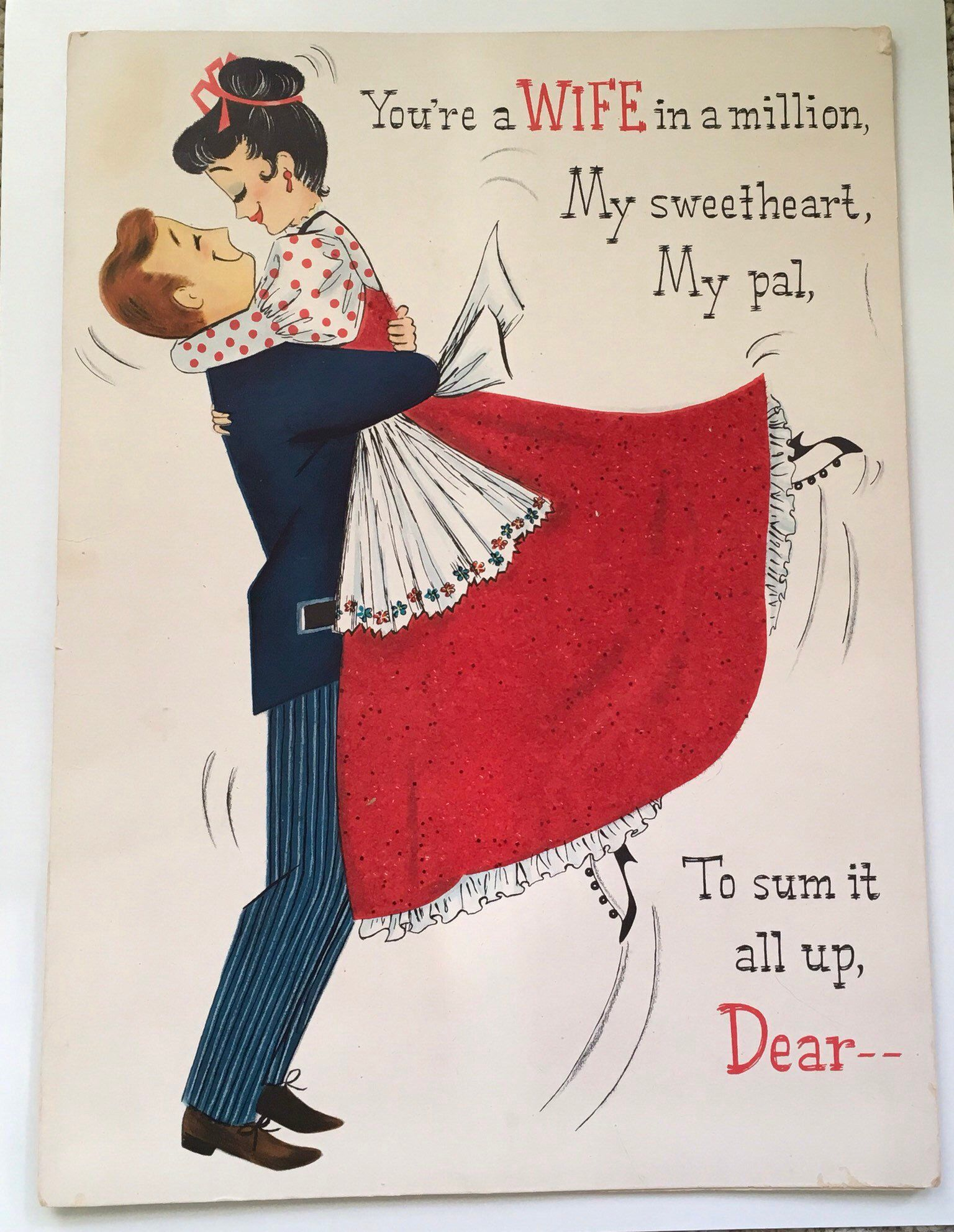 HALLMARK FOR A WONDERFUL WIFE POP UP ANNIVERSARY CARD NEW GIFT