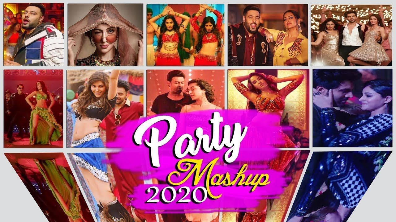 Party Mashup 2020 L The Black One L Best Of Bollywood Mashup 2020 In 2020 Party Songs Mashup Songs