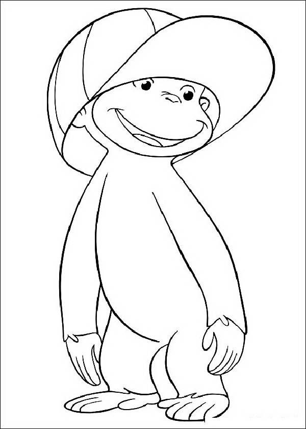 Curious George Printable Coloring Pages | Play Time | Pinterest ...