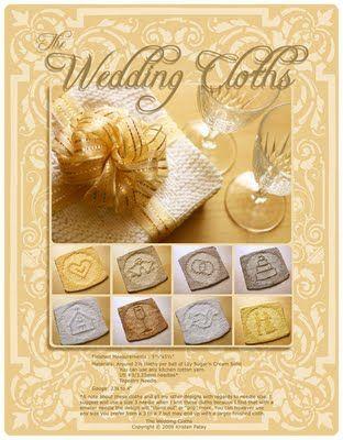 KrisKnits...: The Wedding Cloths...