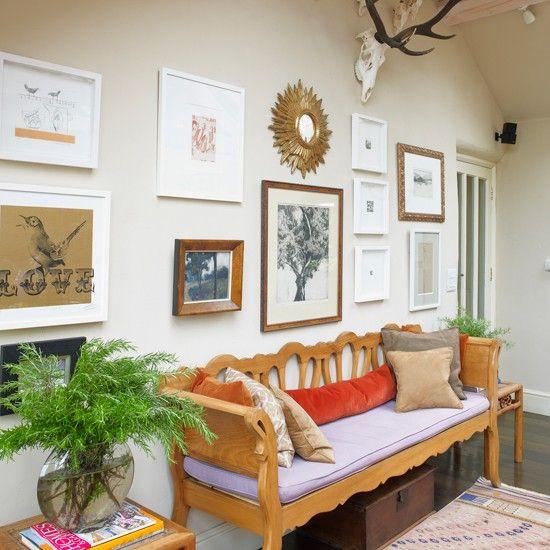 Decorating Ideas Entrance Hall: Eclectic Entrance Hallway