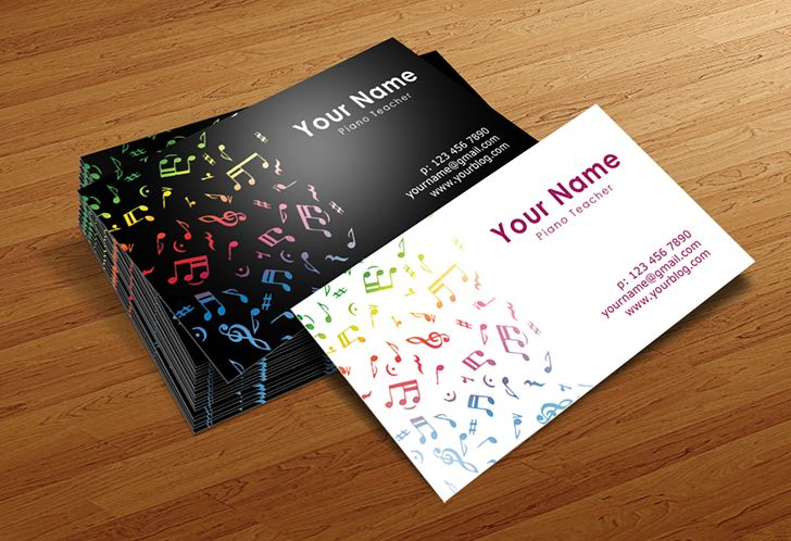 Band business card examples arts arts musician business cards templates designed by businesscardszone colourmoves