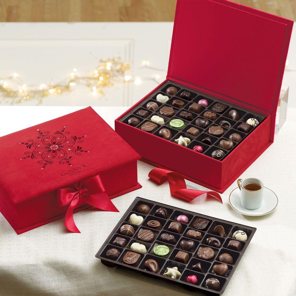 f77682828706 Luxury Gift Box of Chocolates with Swarovski Elements at  Godiva ...