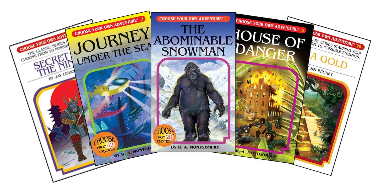 Choose Your Own Adventure Books Awsome 80 S Pinterest