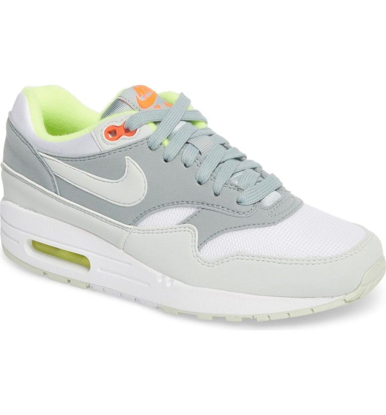 official photos 4df2f 7cab7  Air Max 1 ND  Sneaker, Main, color, White  Barely Grey