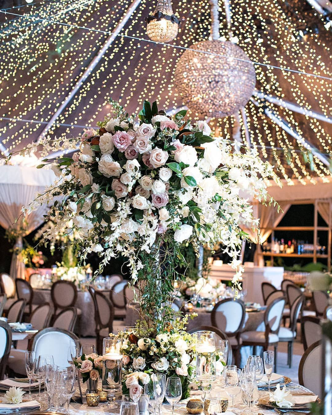 Guests Dined At Beautifully Designed Tablescapes By