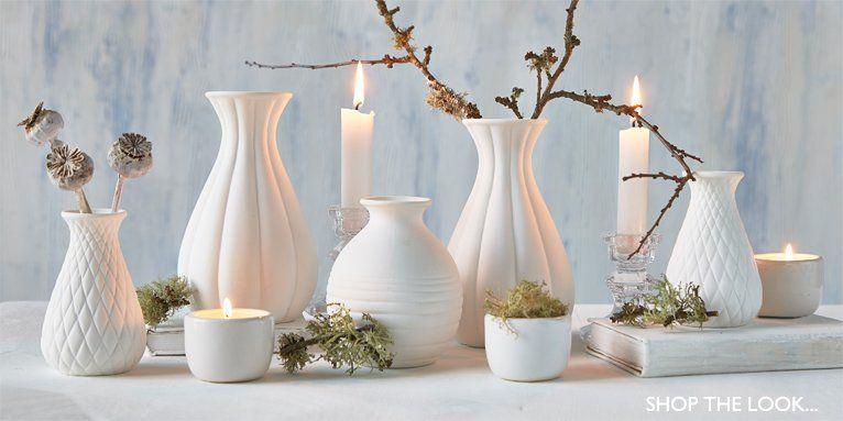 Nordic House New Flat Pinterest White Vases Lantern