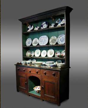 Room Beautiful Turquoise Welsh Dresser Pine DresserWelsh DresserVictorian Dining