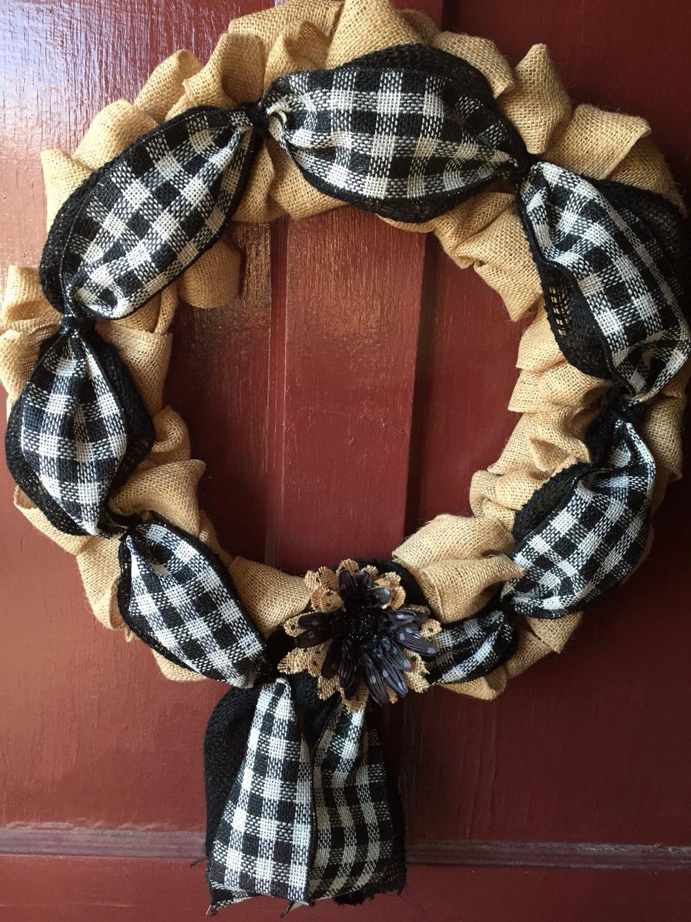 New Black And White Wreath Wreath Ideas Pinterest White Wreath