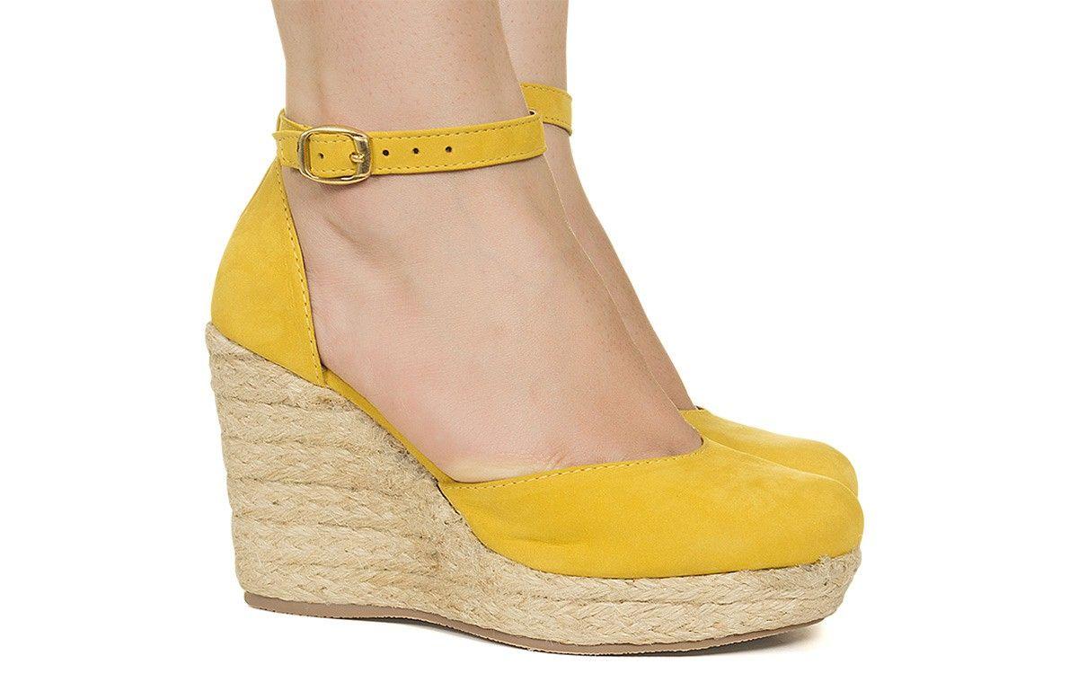 da749a807f Espadrille amarela taquilla loja online de sapatos femininos jpg 1200x759 Sapatos  femininos online