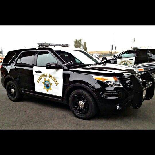California Highway Patrol Ford Explorer Interceptor