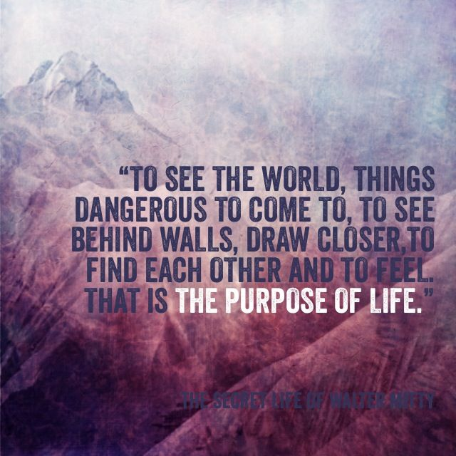 The Secret Life Of Walter Mitty With Images Walter Mitty