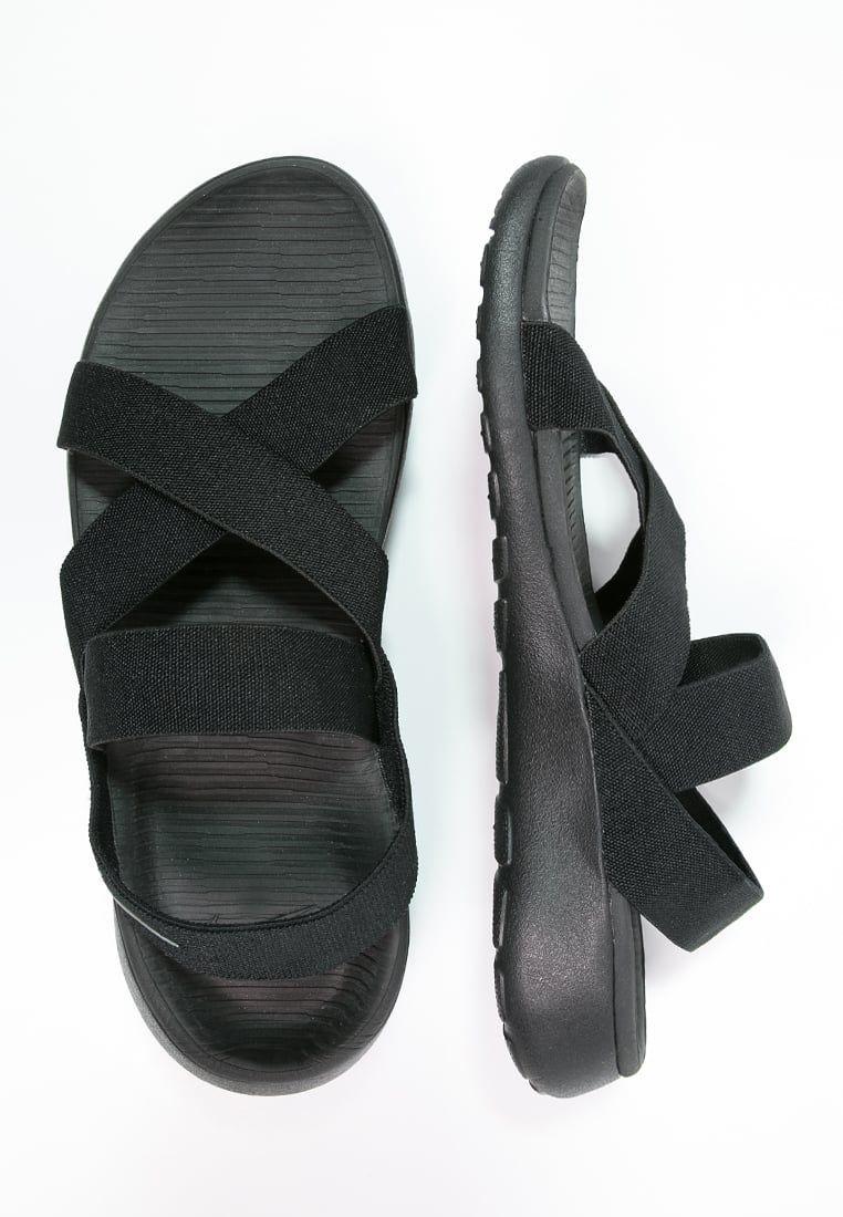 6b8f73c571584 Nike Sportswear ROSHE ONE - Sandals - black anthracite - Zalando.co ...