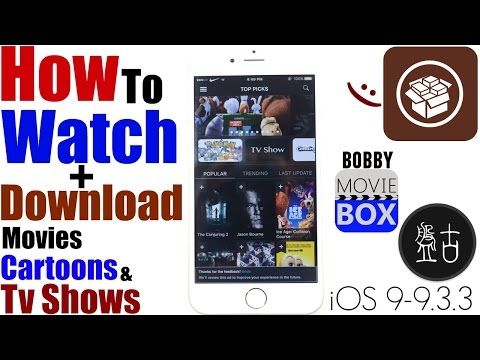 iOS 9 3 3/9 3/9 3 2:How To Install (BOBBY MOVIE BOX) |Watch+
