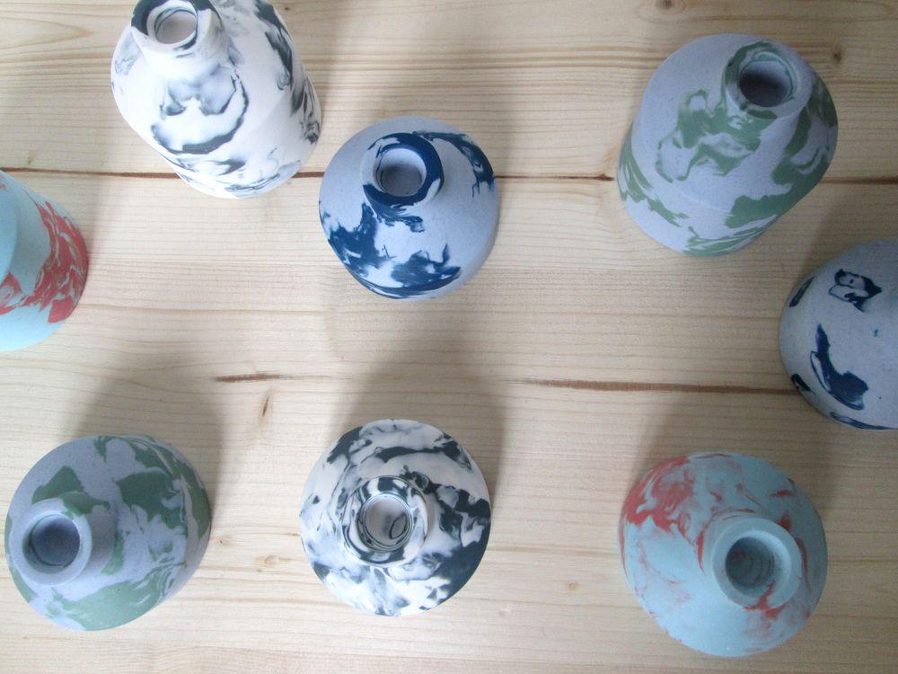 Keramik Iris DegenKerzenst?nder