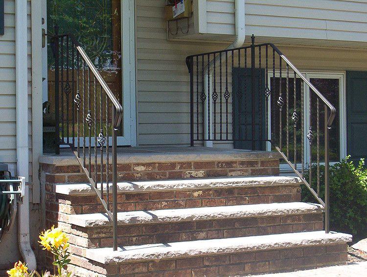 Best Exterior Railings Railings Outdoor Wrought Iron Railing 400 x 300