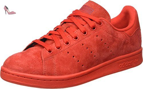 Adidas Mixte Smith Rouge red Rot Mocassins Stan Originals Adulte ZwqTraZn