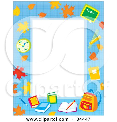 education boarders free rf clipart illustration of a