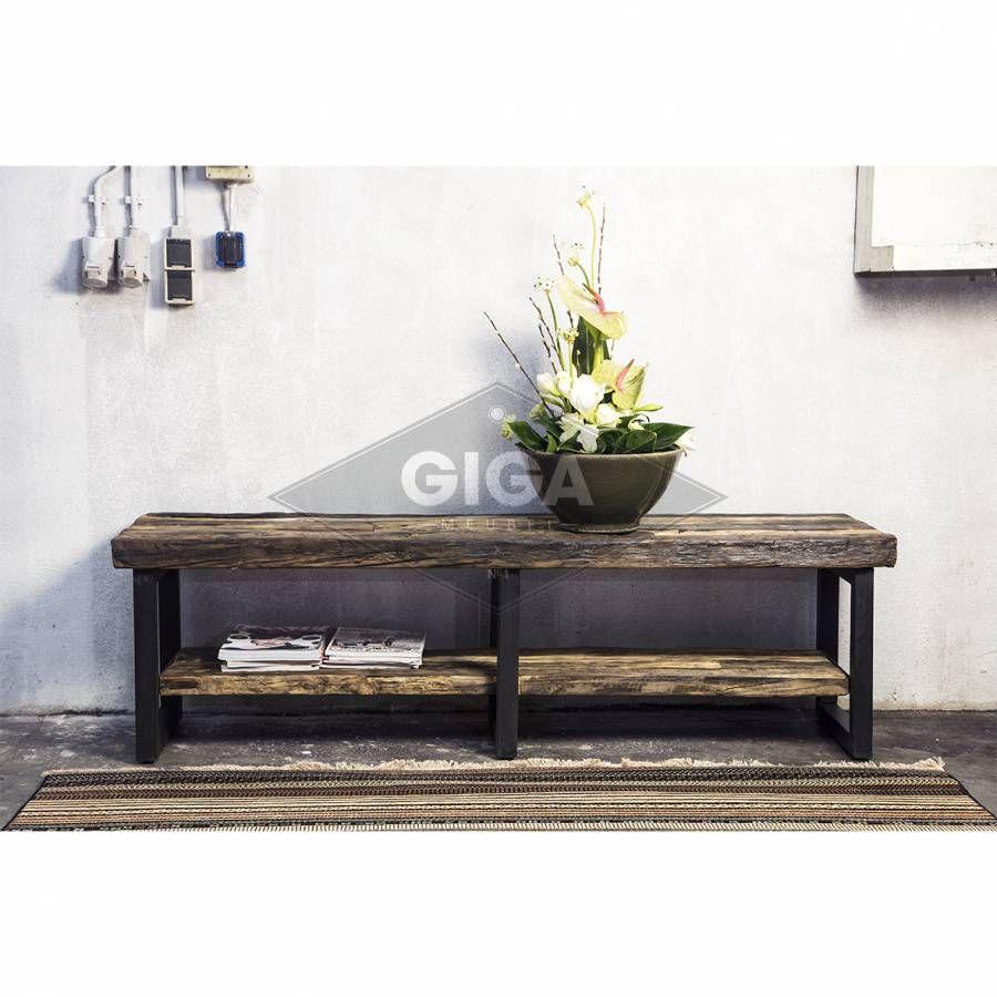 Betaalbare luxe industriele vintage kasten nu bij giga meubel home pinterest tv kasten en - Vintage woonkamer meubels ...