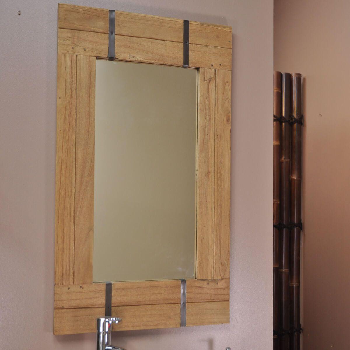 Magasin Salle De Bain Lille ~ miroir de salle de bain naturel loft 60×80 naturel pinterest