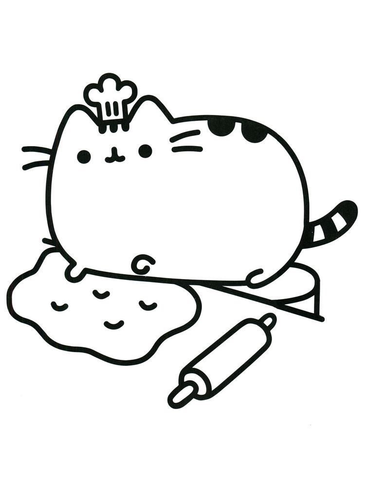 Pusheen Coloring Pages Halloween Pusheen Is A Female Cartoon Cat That Is A Comic Material And Pusheen Coloring Pages Cat Coloring Page Cartoon Coloring Pages