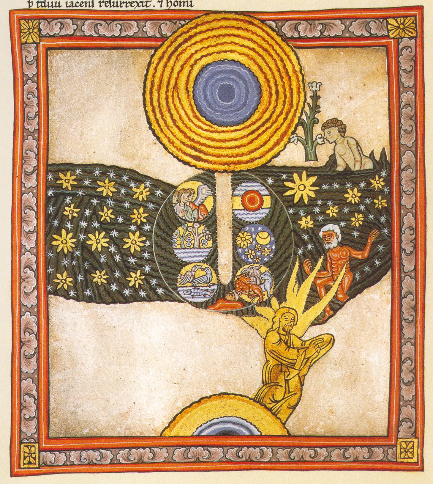 Image result for days of creation medieval