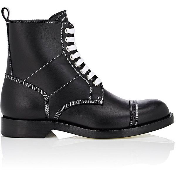 Loewe Leather Lace Up Boots NsNdfPn