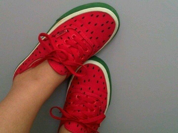 Watermelon Vans