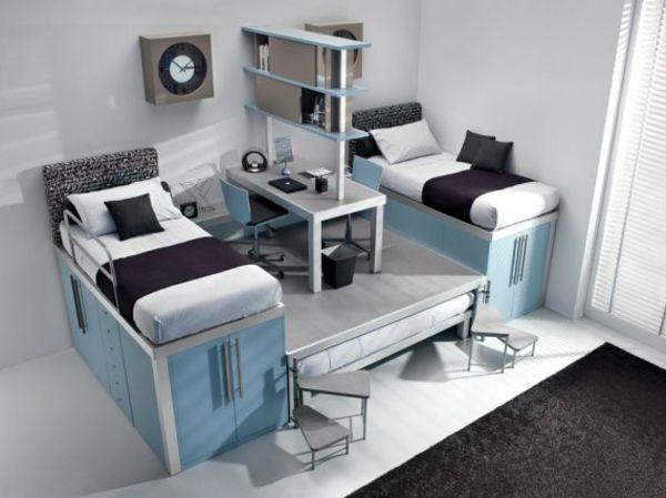bunte tolle hochbetten f r kinder und erwachsene vervorragende ideen. Black Bedroom Furniture Sets. Home Design Ideas