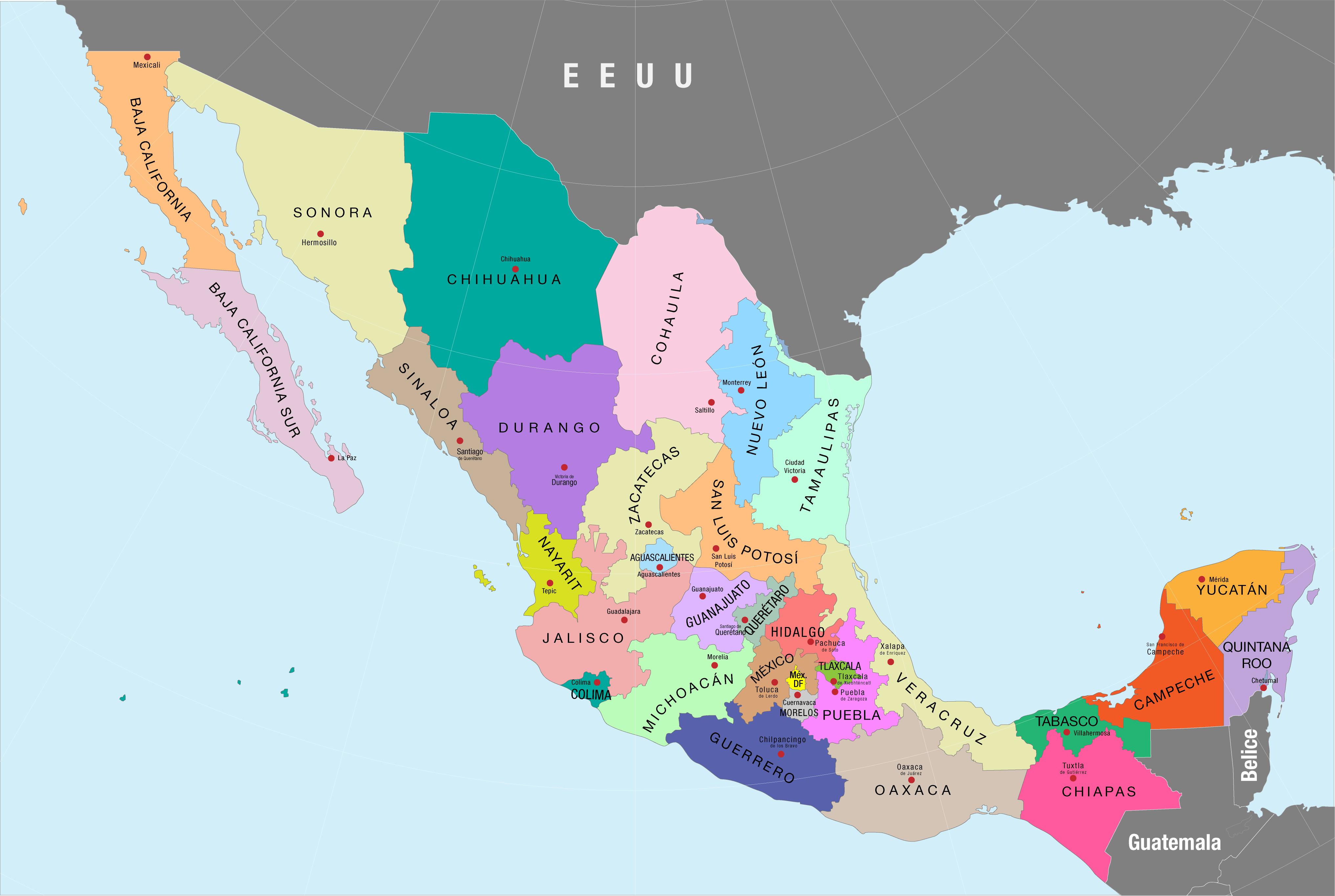 Estados de México