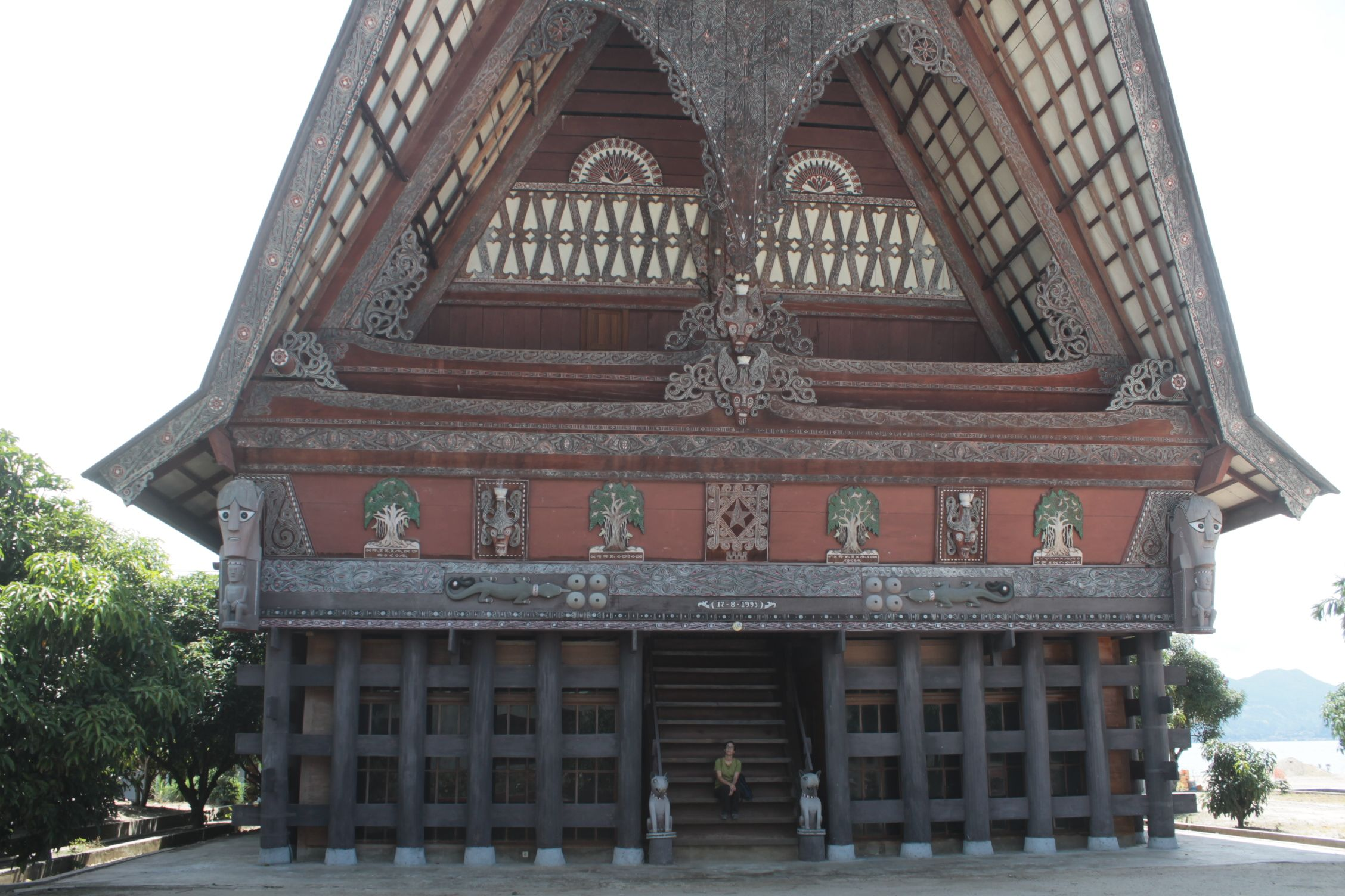 Tradicional casa Batak