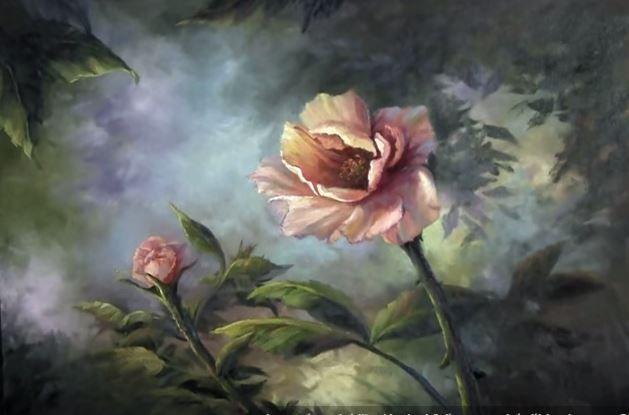 Dessin Et Peinture Video 1581 Une Magnifique Rose Saumon