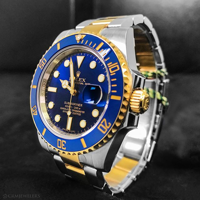55d62c20527 Rolex Submariner The Perfect Two-Tone  11800 Preowned . . .  rolexaholics   malefashion