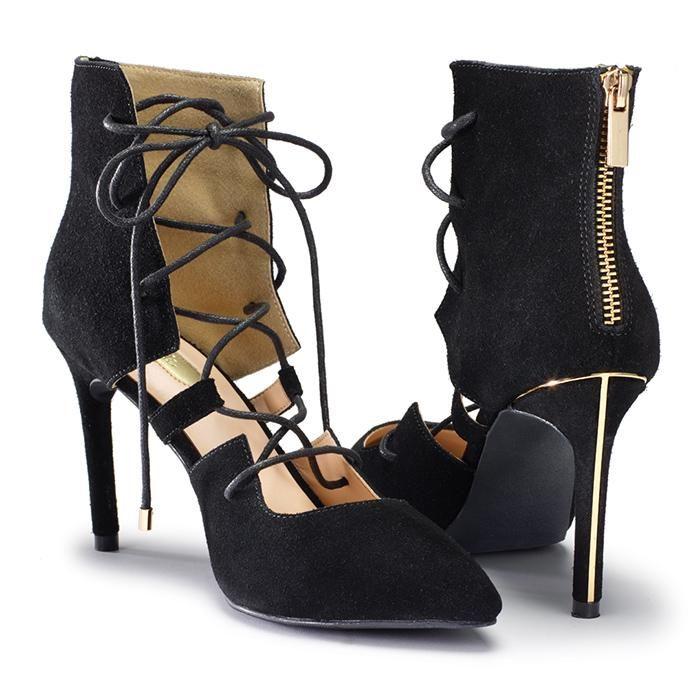 "Real suede. 3 1/2"" heel. Half sizes order up. #Avon #Shoes While supplies last. #Shopnow @  cblount.avonrepresentative.com"
