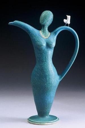 Ceramic teapot by felicia